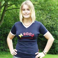 Ladies M2002 t-shirt