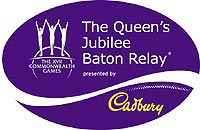 The Queen's Jubilee Baton Relay Logo